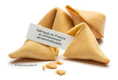Personnalisation Fortune Cookies